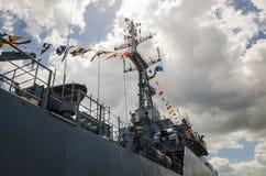Krigskepp Royaltyfri Bild