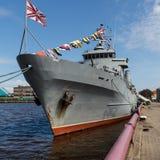 Krigsskepp Arkivbild