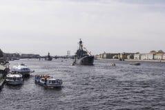 krigsskepp Royaltyfri Foto