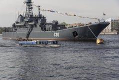 krigsskepp Royaltyfri Bild