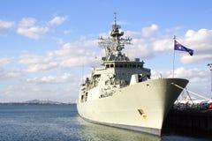 krigsskepp Royaltyfria Bilder