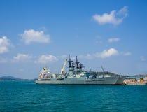 krigsskepp Royaltyfri Fotografi
