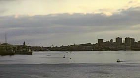 Krigsskepp av Port Said arkivfilmer