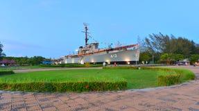 Krigsskeppminnesmärke arkivfoton