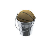 Krijg de uitdrukking van het emmersbasketbal Royalty-vrije Stock Fotografie