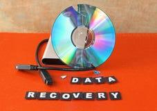 Krijg gegevens terug Stock Afbeeldingen