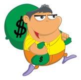Krijg geld Stock Afbeelding