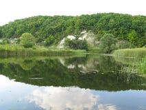 Krijtbergen Royalty-vrije Stock Afbeelding