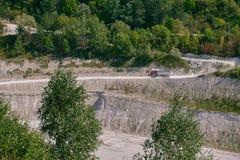 Krijtmijn nabijgelegen Mielnik royalty-vrije stock foto's