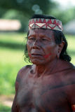 Krikati -巴西的当地印地安人 免版税图库摄影
