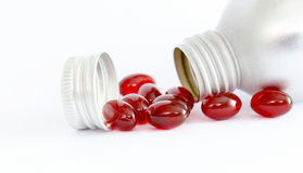 Krill omega 3 capsule. S,picture of Stock Photography