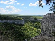 Krim berg Fotografering för Bildbyråer