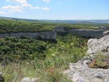 Krim berg Arkivfoton