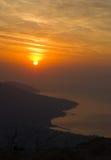 Krim dageraad Stock Fotografie