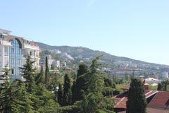 Krim halvö av Tavrida Tavrida royaltyfria foton
