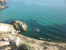 Krim, Kap Fiolent Stockfotografie