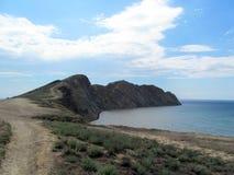 Krim kust Arkivfoto