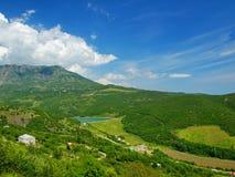 Krim landschap Stock Afbeeldingen