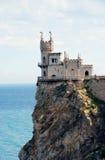 Krim, Nest der Schloss-Schwalbe Stockfoto