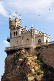 Krim, Nest der Schloss-Schwalbe Stockbild