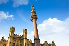 Krim och för indisk myteri minnesmärke London royaltyfri bild