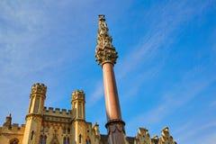 Krim och för indisk myteri minnesmärke London royaltyfri foto