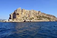 Krim rotsen royalty-vrije stock foto's