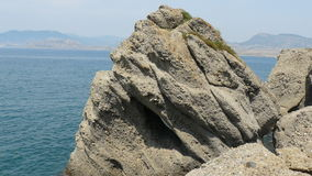 Krim rotsen stock foto's