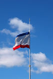 Krim-Staatsflagge Stockfotografie