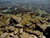 Krim stenig kust Royaltyfria Foton
