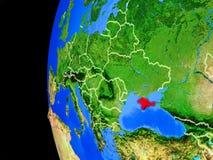 Krim vom Raum vektor abbildung