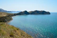 Krimgebirgslandschaft stockbilder