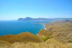 Krimgebirgslandschaft stockfotografie