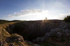 Krimhöhle Stockfotos