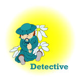 kriminalare Arkivfoto