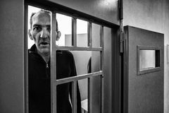 Kriminelle psychiatrische Klinik Stockbilder