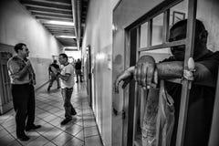 Kriminelle psychiatrische Klinik Stockbild