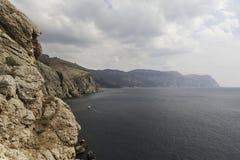 Krimküste nahe Balaklava. Ukraine Lizenzfreie Stockfotografie