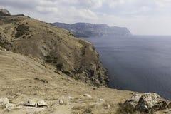 Krimküste nahe Balaklava. Ukraine Stockbild