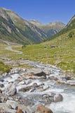 In Krimml Achental valley Stock Image