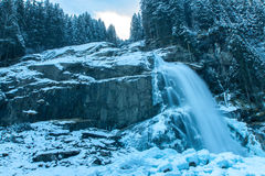 Krimml Cascades Royalty Free Stock Images