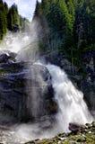 Krimml de cascade Photographie stock libre de droits