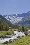 Krimml valley in Austria Royalty Free Stock Photos