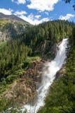 Krimml vattenfall Royaltyfria Foton