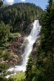 Krimml vattenfall Royaltyfri Fotografi