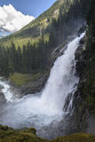 The Krimml waterfalls in Austria Stock Photography