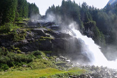 Krimml waterfalls royalty free stock images