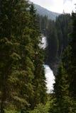 Krimml Waterfalls in  High Tauern National Park (Austria). Stock Photo