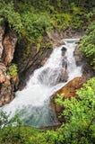 Krimml Waterfalls in  High Tauern National Park (Austria) Royalty Free Stock Photos