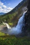 The Krimml Waterfalls royalty free stock photos